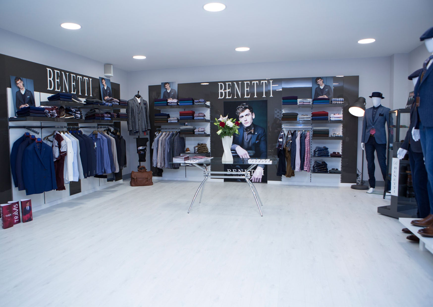 Tom Webb, Benetti Menswear, showcase event, new showrooms, ballymahon, benetti suit, tailoring