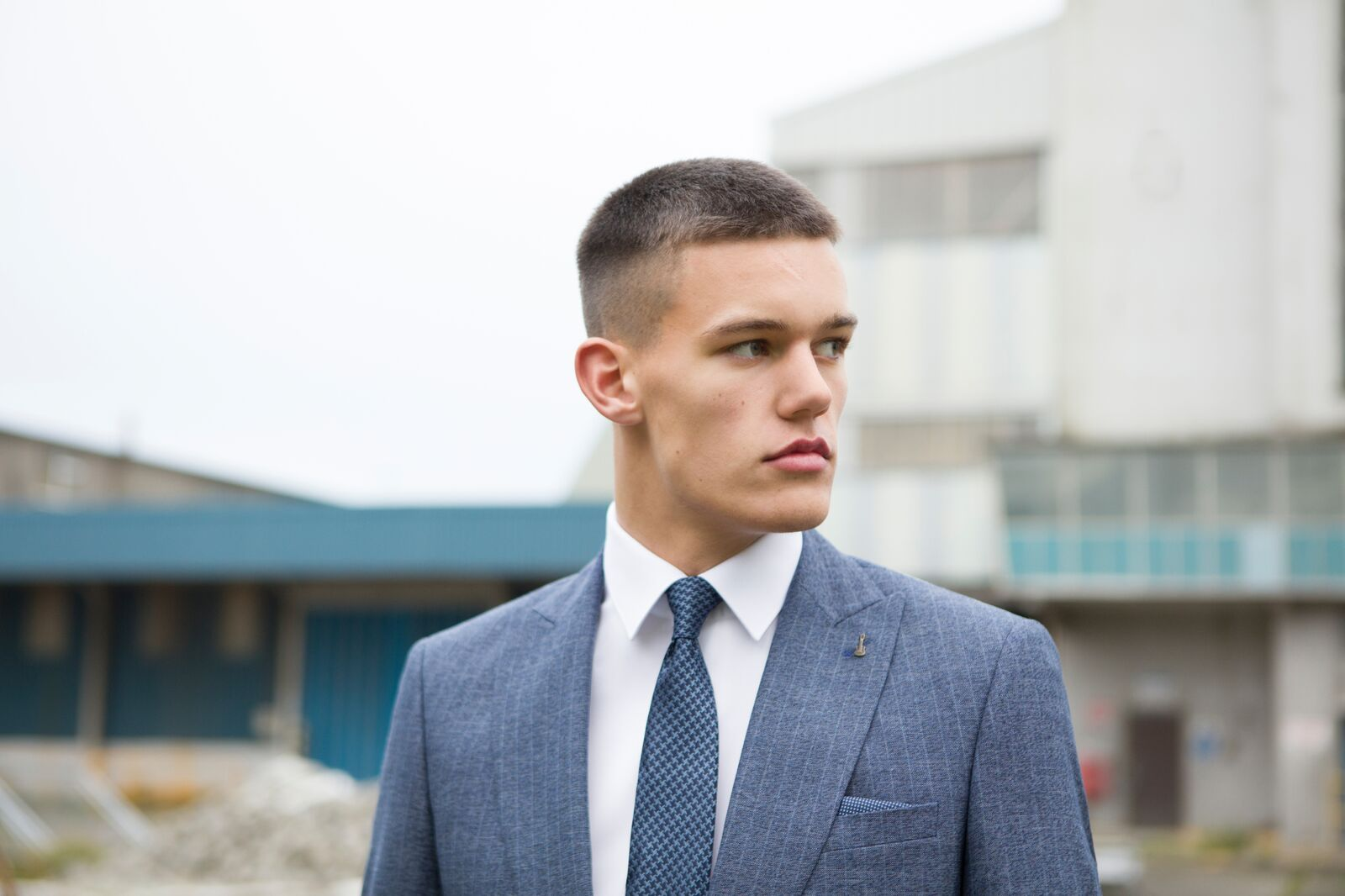 Travis Menswear Spring Summer 2018 Benetti Menswear Suit