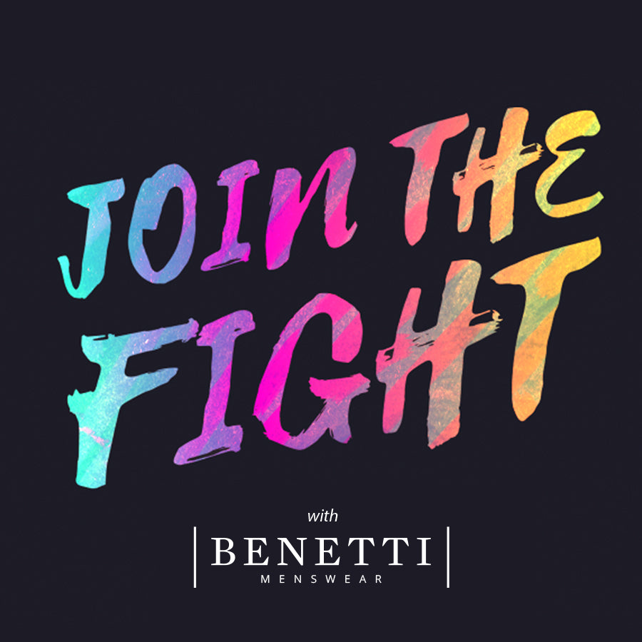 Join the Fight with Benetti Menswear Covid19