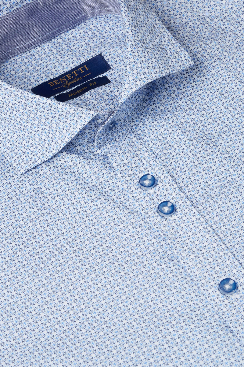 Axel Sky Blue Benetti Shirt