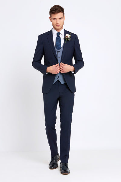 James Navy Suit By Benetti Menswear