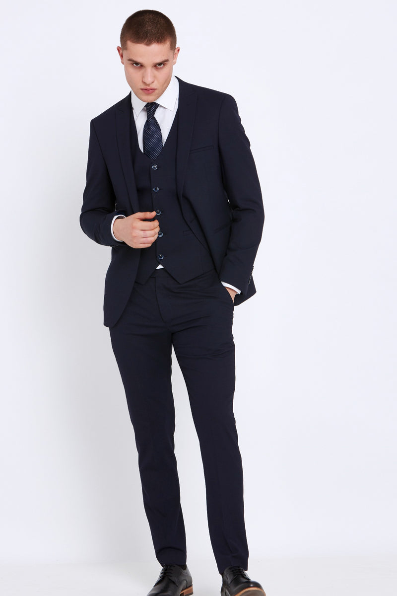 Navy Travis Slim Fit Suit