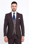 Benetti Donald Bordeaux Suit