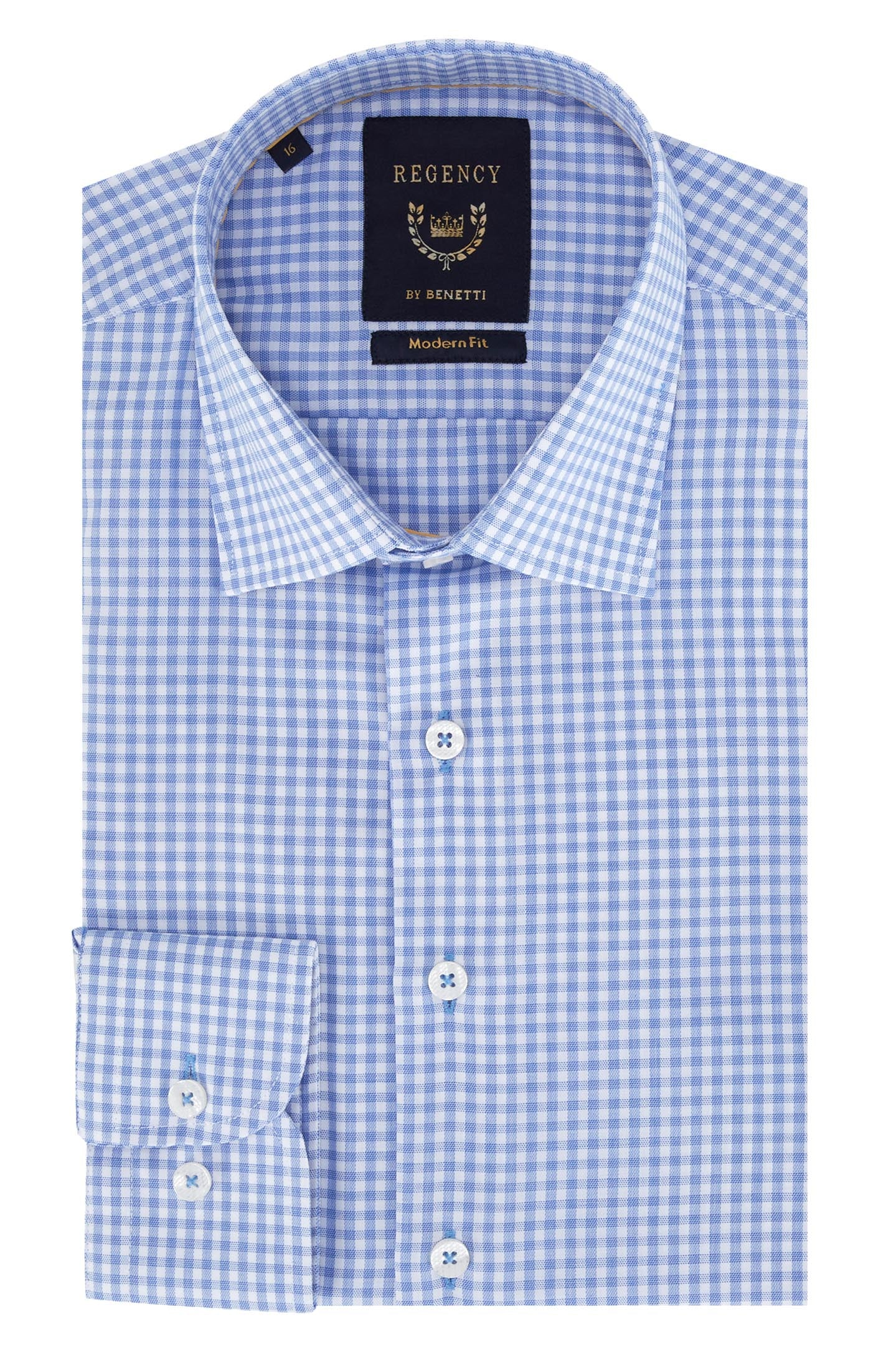 Regency By Benetti Evan Gingham Shirt
