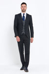 Benetti Jacob Grey 3 Piece Suit
