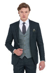 Benetti Joey Forest Slim Fit Suit