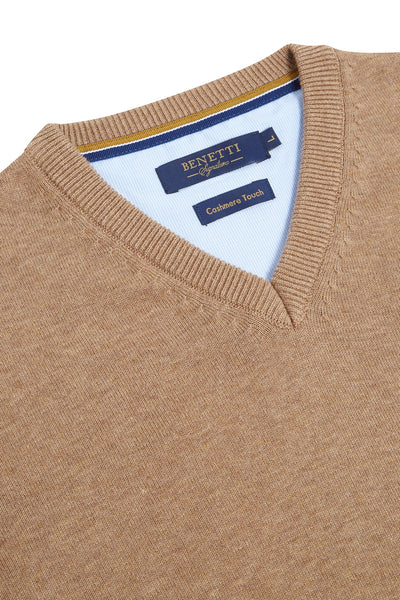 V-Neck Benetti Sweater