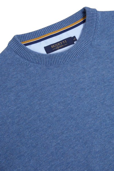 Crew Neck Ocean Sweater