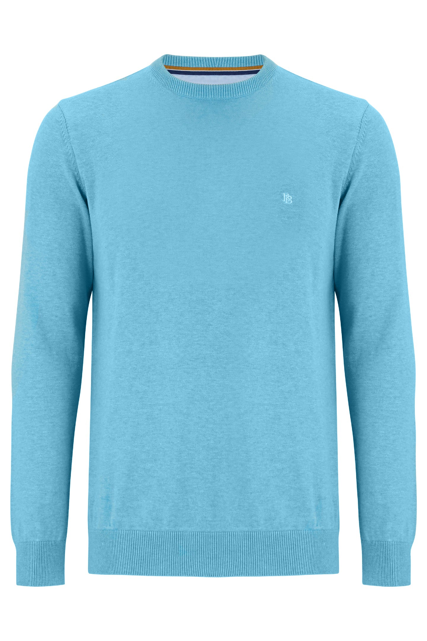 CREW NECK SWEATER | TEAL