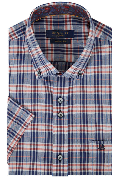 Benetti Bret Casual Short Sleeve Shirt