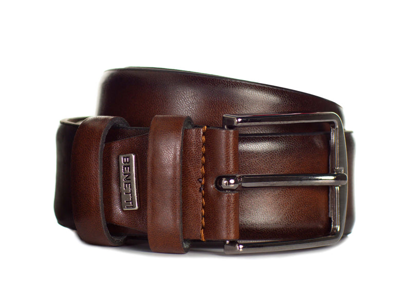 Jackson Leather Belt | Brown