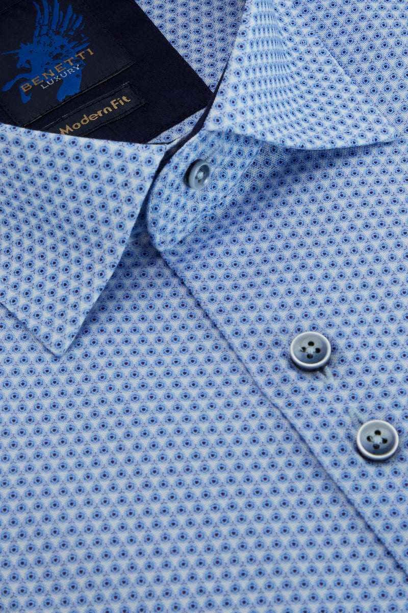 Benetti_Short_Sleeve_Printed_Shirt