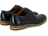 Conor Navy Brogue Shoe