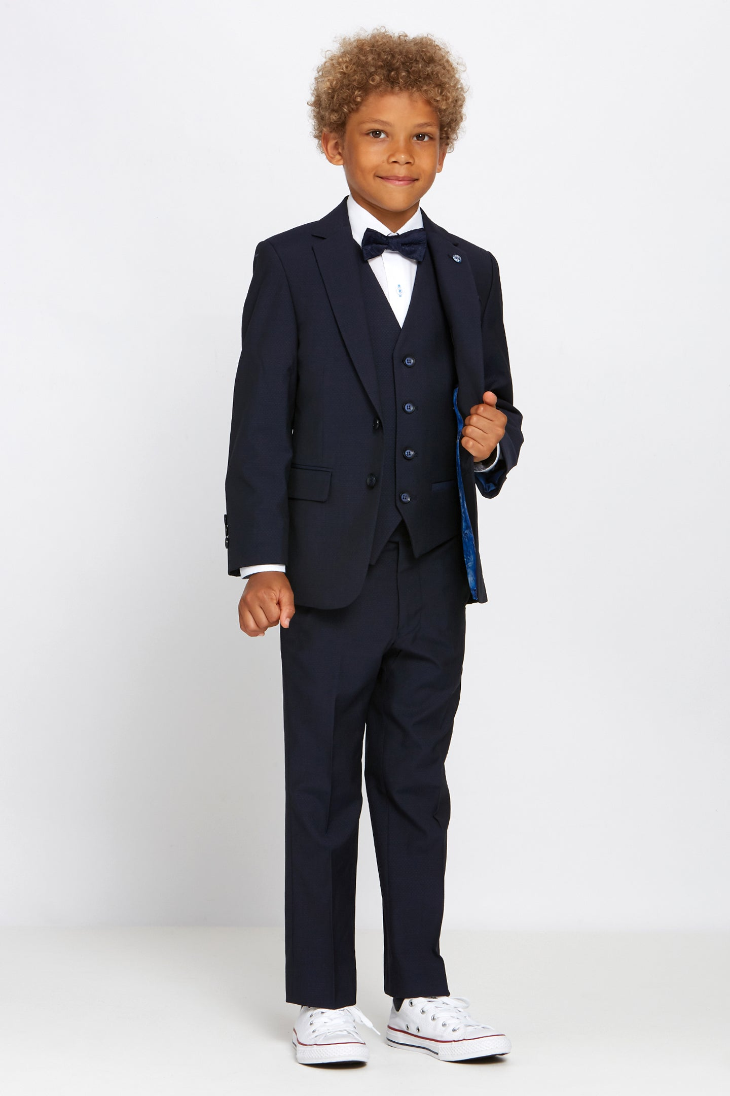 Boys Navy Suit
