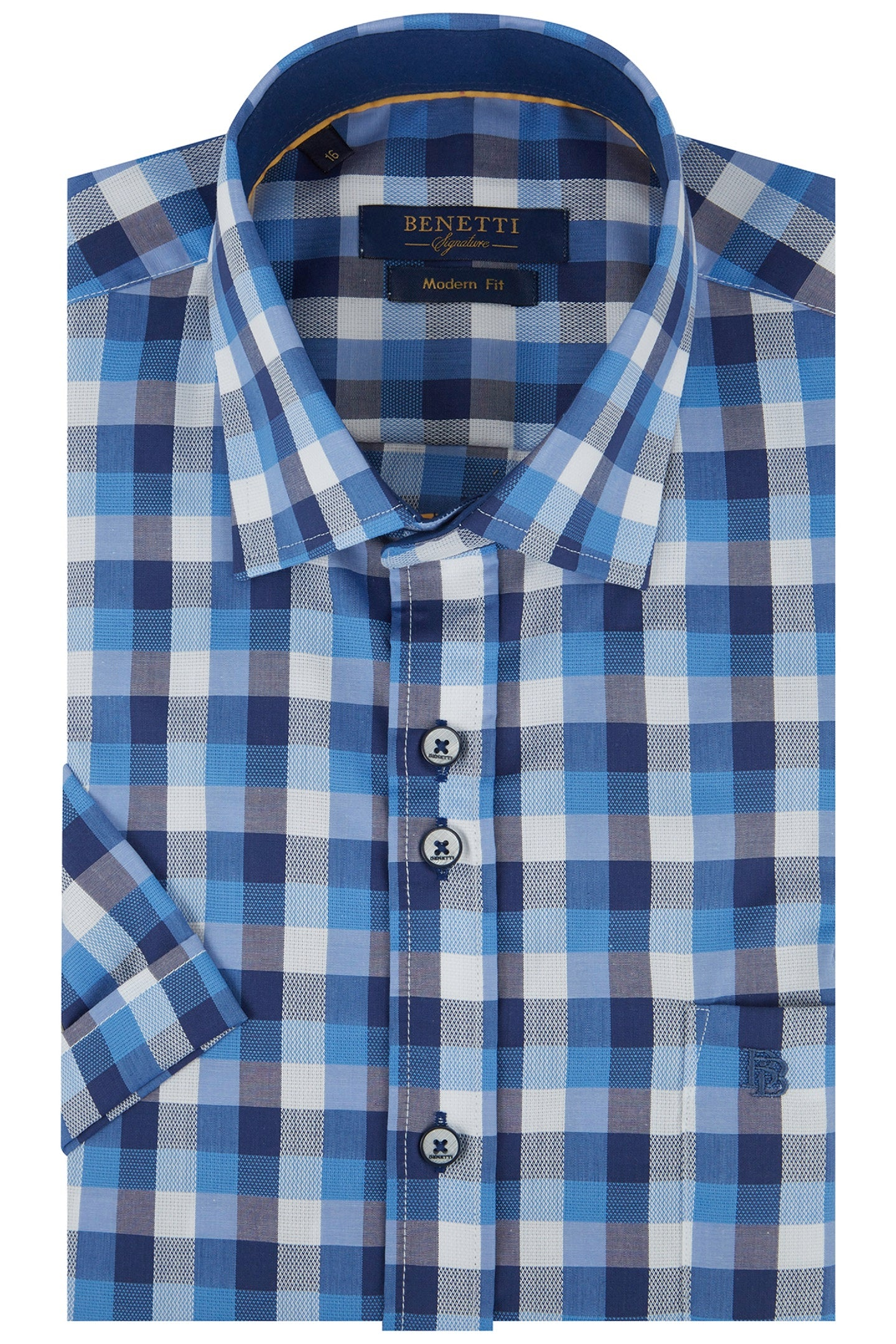 Benetti Drew Short Sleeve Shirt