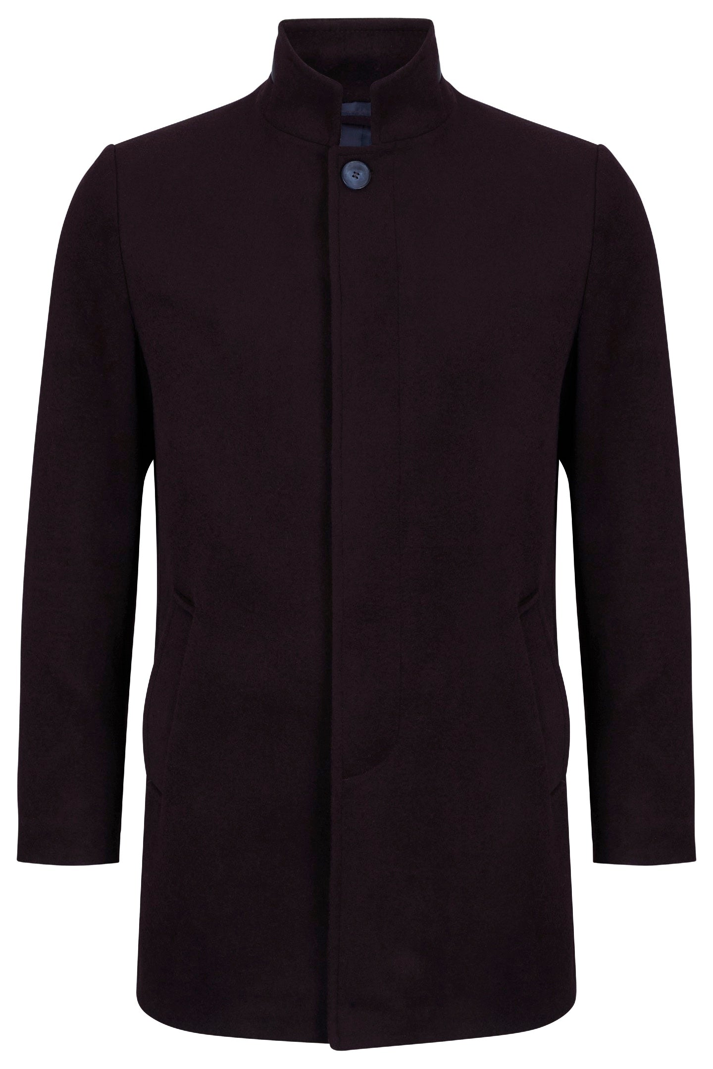 Benetti ELY Bordo Wool Coat