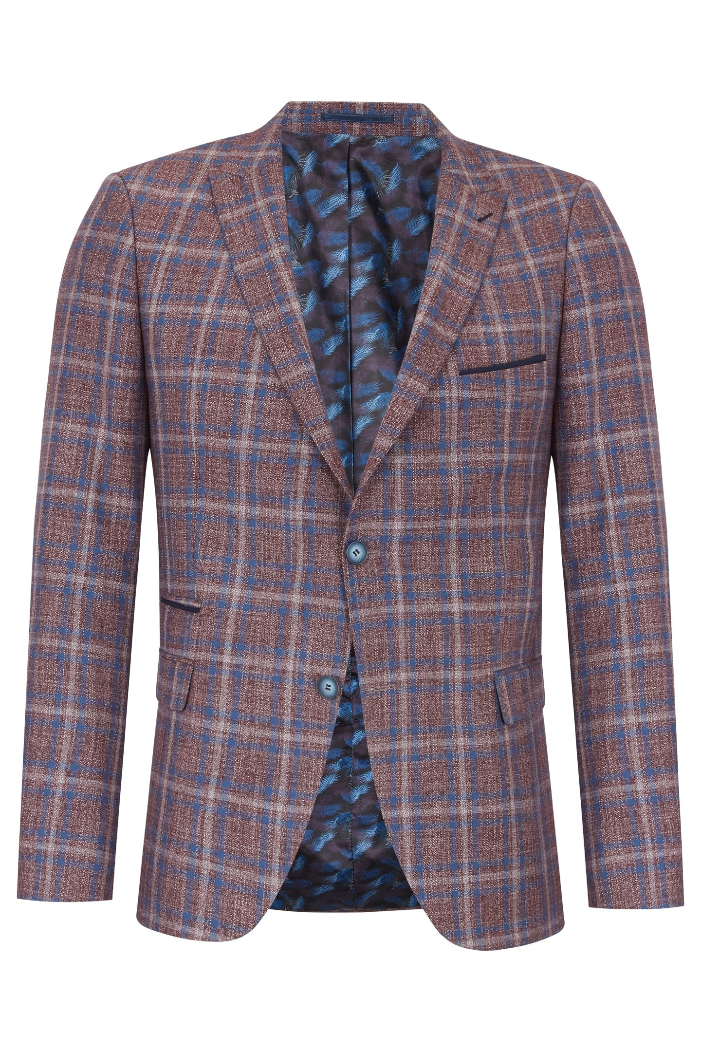 Errol Wine Blazer