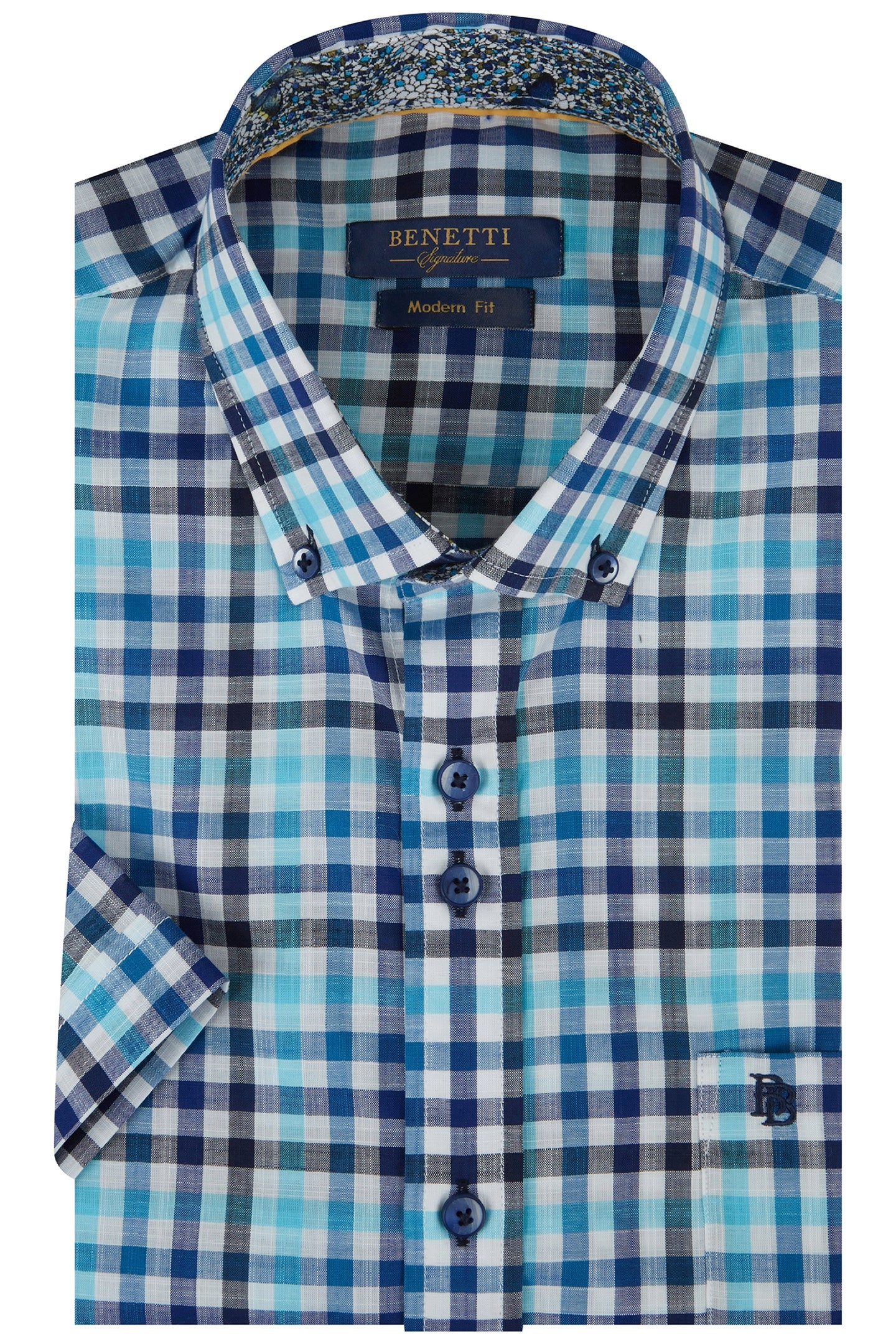 Gary Check Short Sleeve Shirt