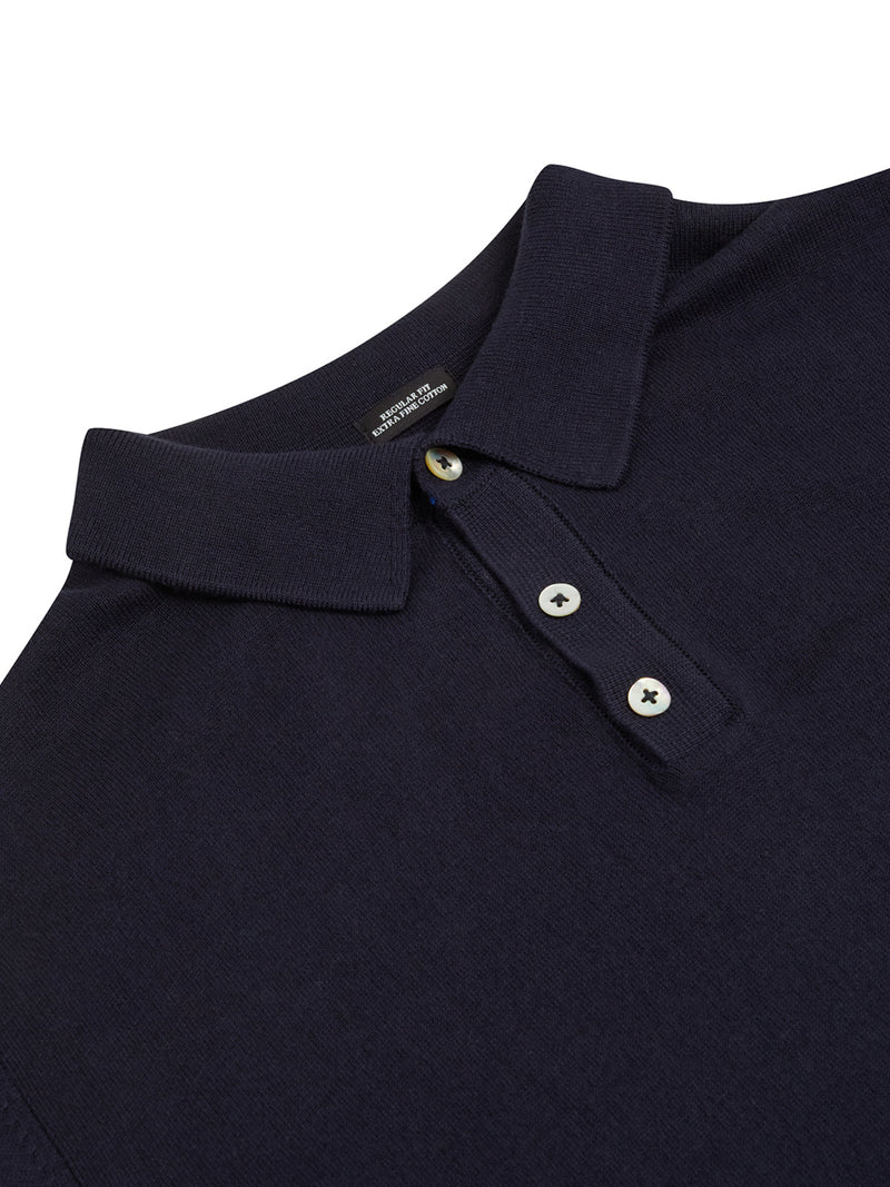 Geron Navy Benetti Sweater