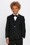 Boys James Black Suit