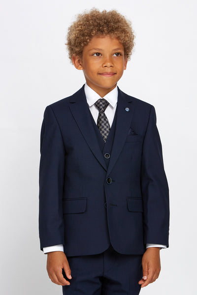 Boys James Navy Suit