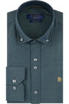 Jasper Green Plain Shirt