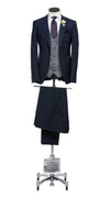 James Navy Suit | Mickey Waistcoat