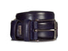 Jackson Leather Belt | Navy