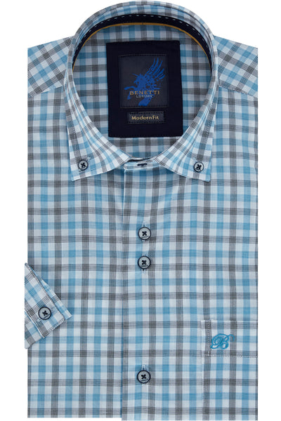 Benetti Orion Teal Shirt