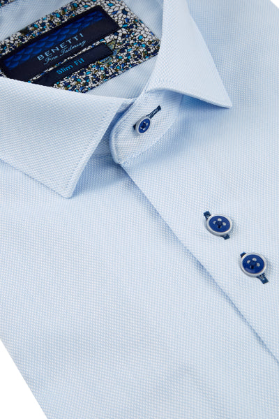 Portland Formal Shirt: Sky Blue