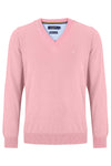 Pink  V Neck Sweater