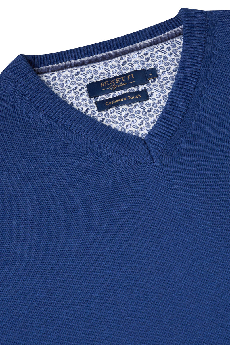 Benetti Royal Blue Sweater