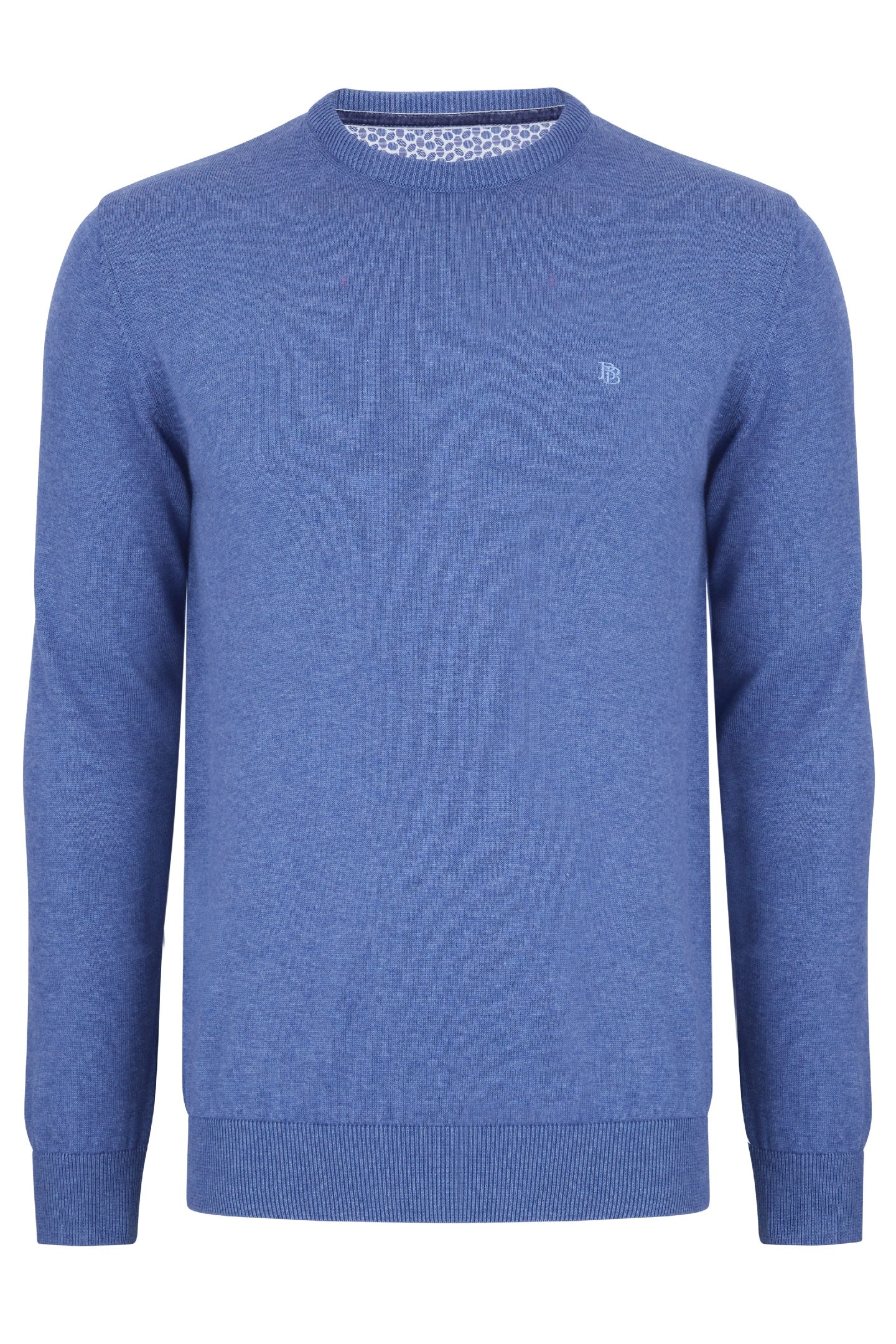 Benetti Smoke Crew Neck Sweater