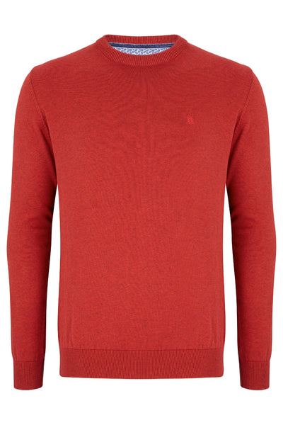 Benetti Crew Neck Sweater Sunset