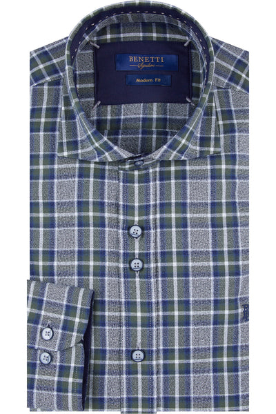 Benetti Tanner Forest Check Shirt