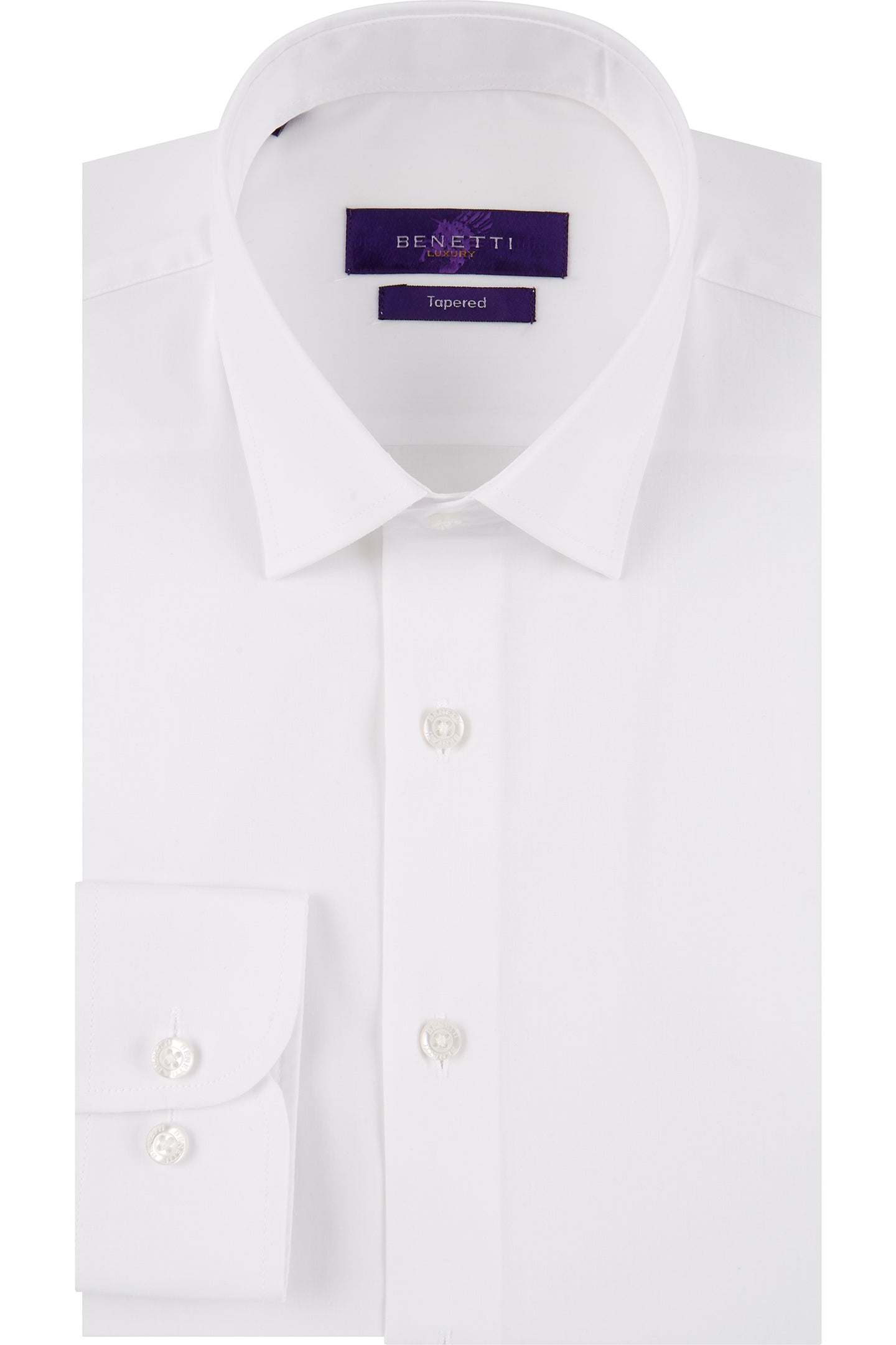 Benetti Tailored White Shirt