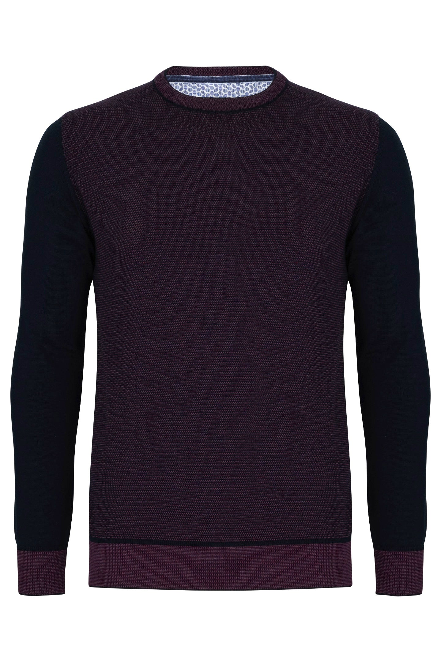 Benetti Trevor Plum Sweater