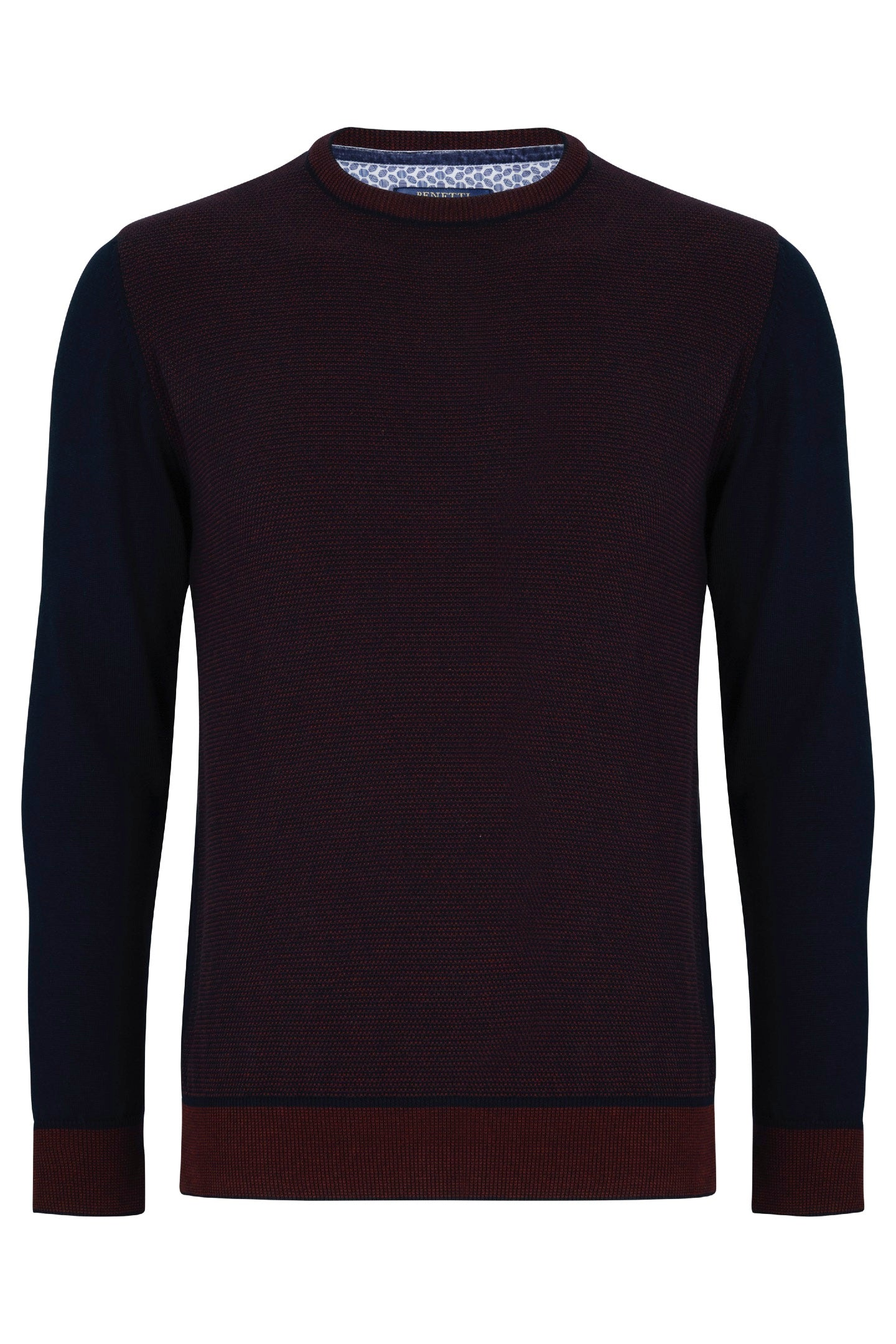 Benetti Trevor Wine Sweater