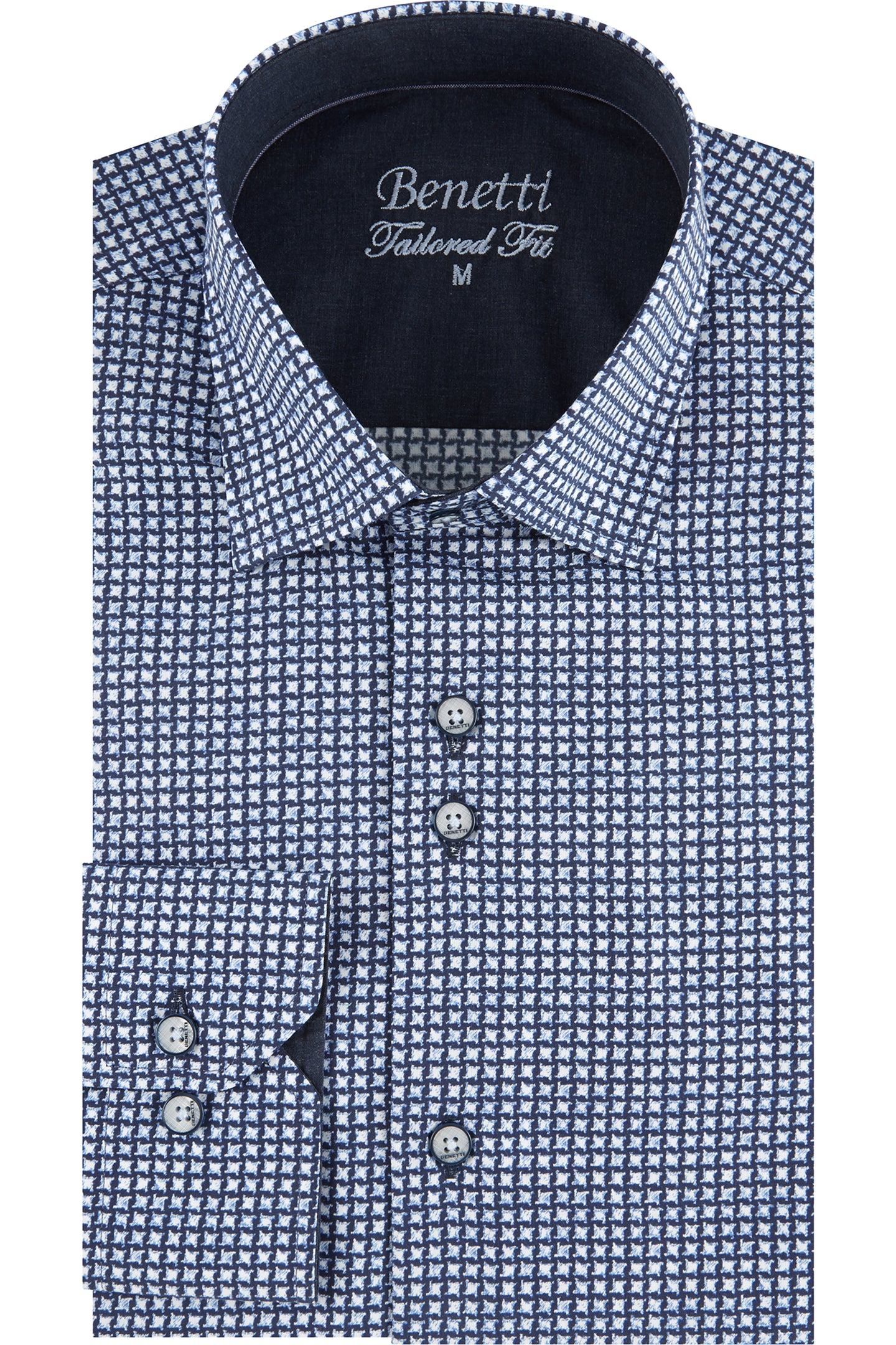 Vance Casual Shirt | Navy