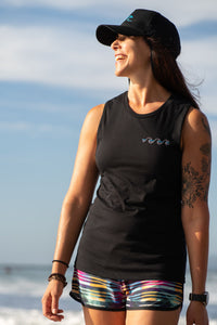 Black - TriWave Women's Tank