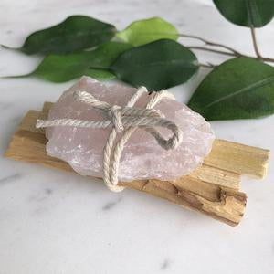 Palo Santo - Rose Quartz Bundle