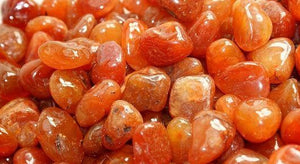 Tumbled for Water Bottle- Carnelian