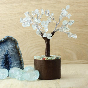 Clear Quartz Tree - Fairy Size