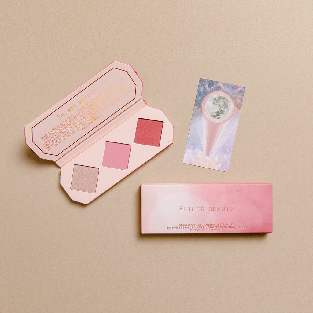 Crystal Charged Cheek Palette - Ruby