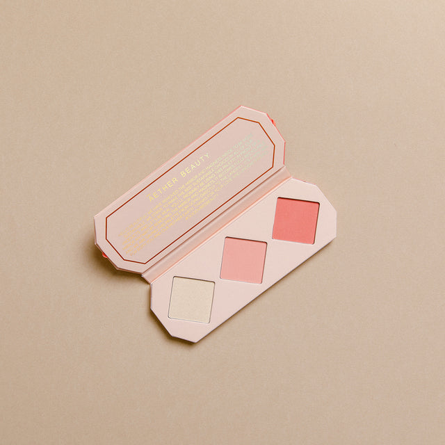 Crystal Charged Cheek Palette - Amber