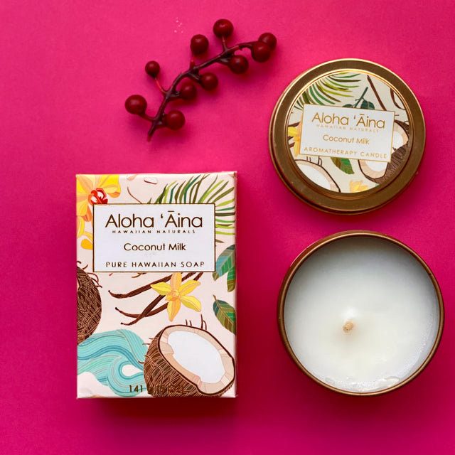 Aloha 'Aina mini gift set - Coconut Milk