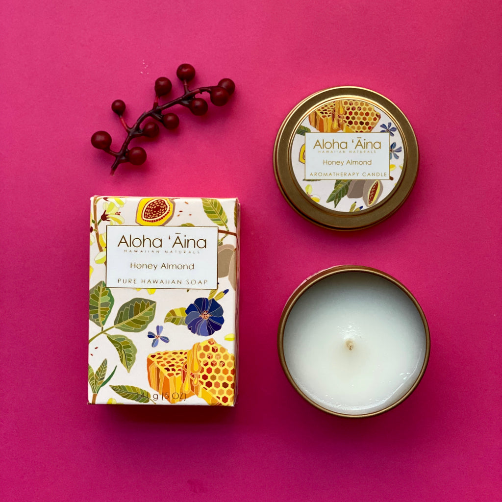 Aloha 'Aina mini gift set - Honey Almond
