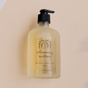 Rose Hand Soap - 15oz Glass Pump