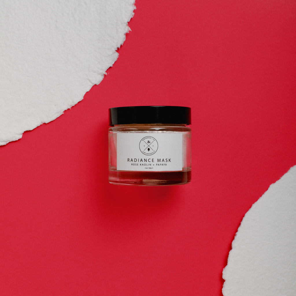 Radiance Mask - Rose Kaolin + Papaya