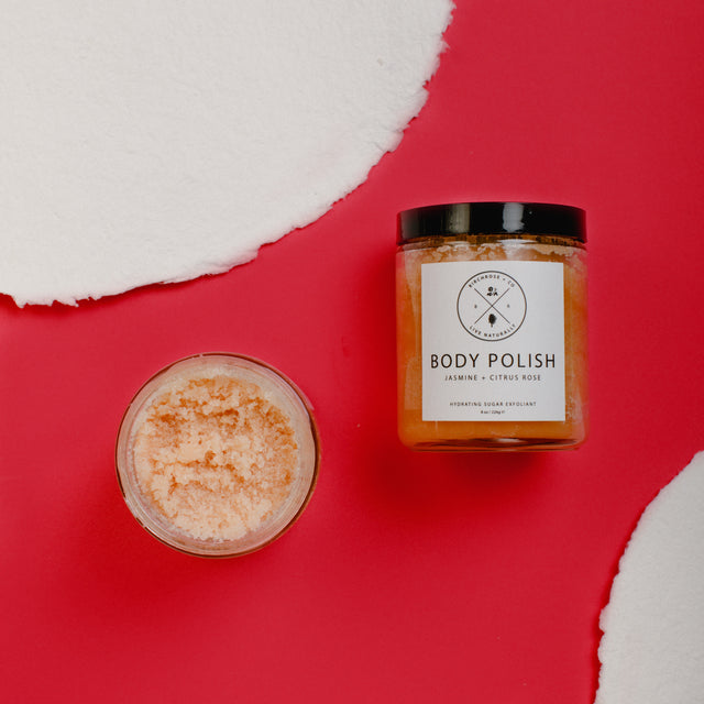 Body Polish - Citrus Rose + Jasmine